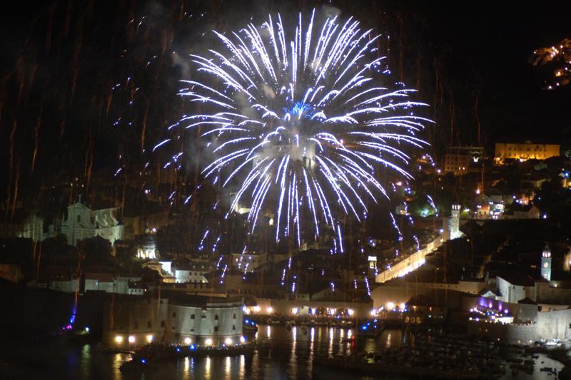 Dubrovnik Summer Festival Fireworks
