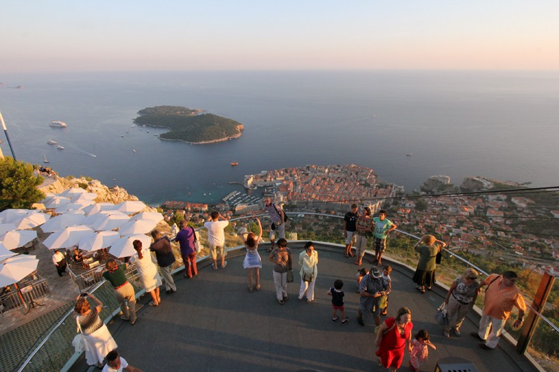 City of Dubrovnik from Srđ