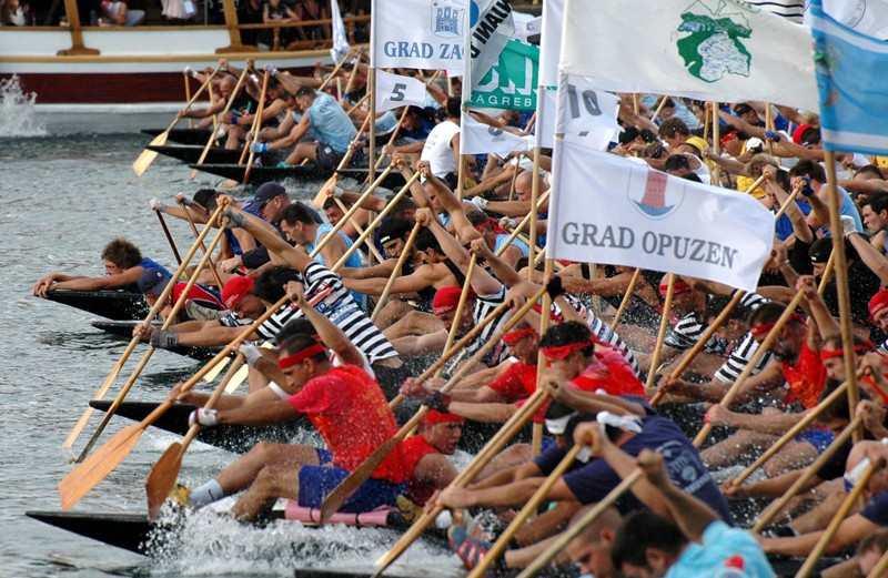 Boat Marathon on the Neretva