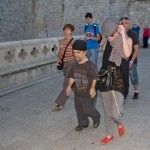 Lena Heady and Peter Dinklage in Dubrovnik