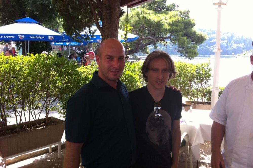 Luka Modrić in Cavtat