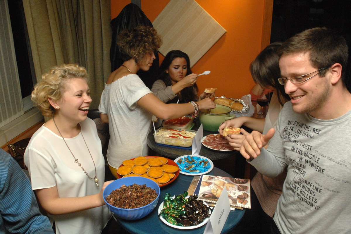 Photo of Erasmus Students Cook Up A Storm