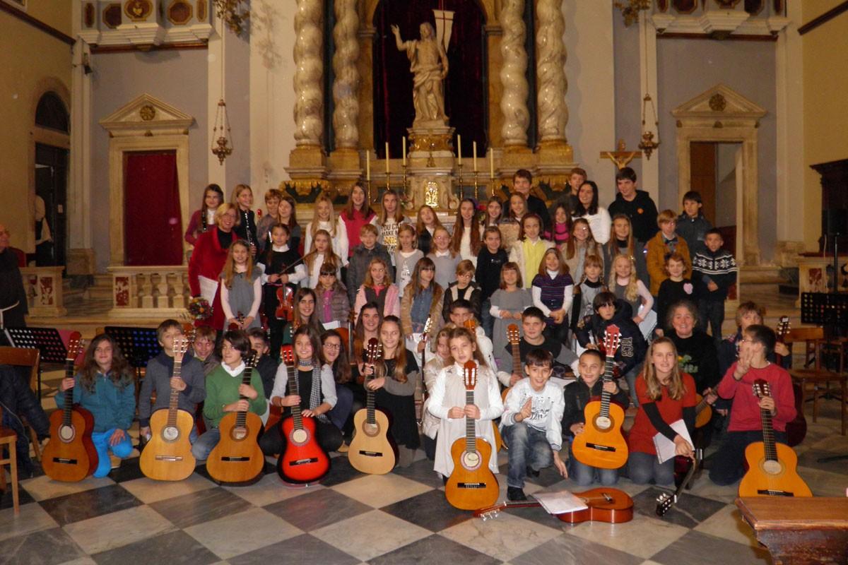 Children's Carol Concert in Dubrovnik