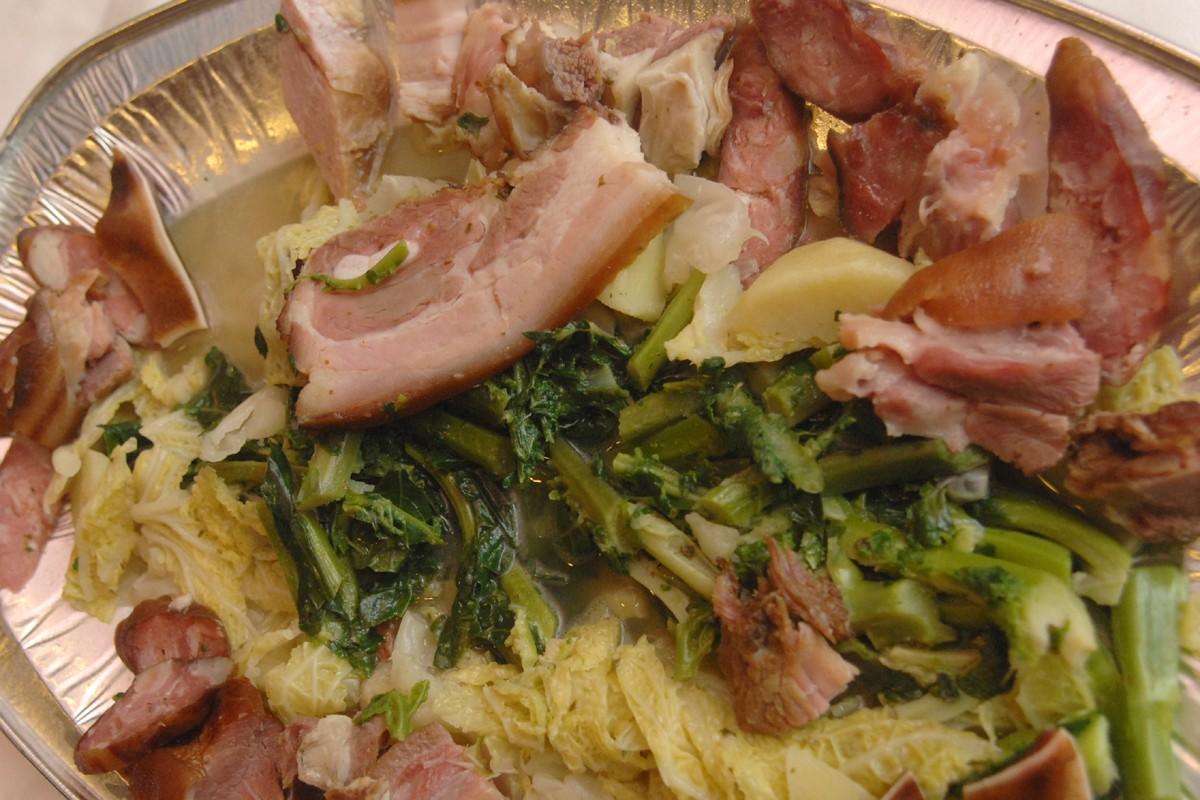 Zelena Menestra - Green Stew