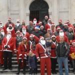 Dubrovnik Bikers' Christmas Spirit on Stradun