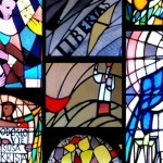 Stained Glass Windows on St Blaise's Church