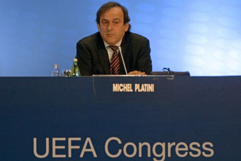 Michel Platini UEFA congress