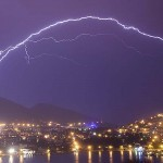 Lightning storms over Dubrovnik - photo by Storm Chasers