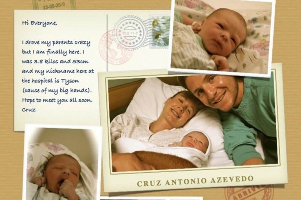 Photo of Tony Azevedo Becomes A Father