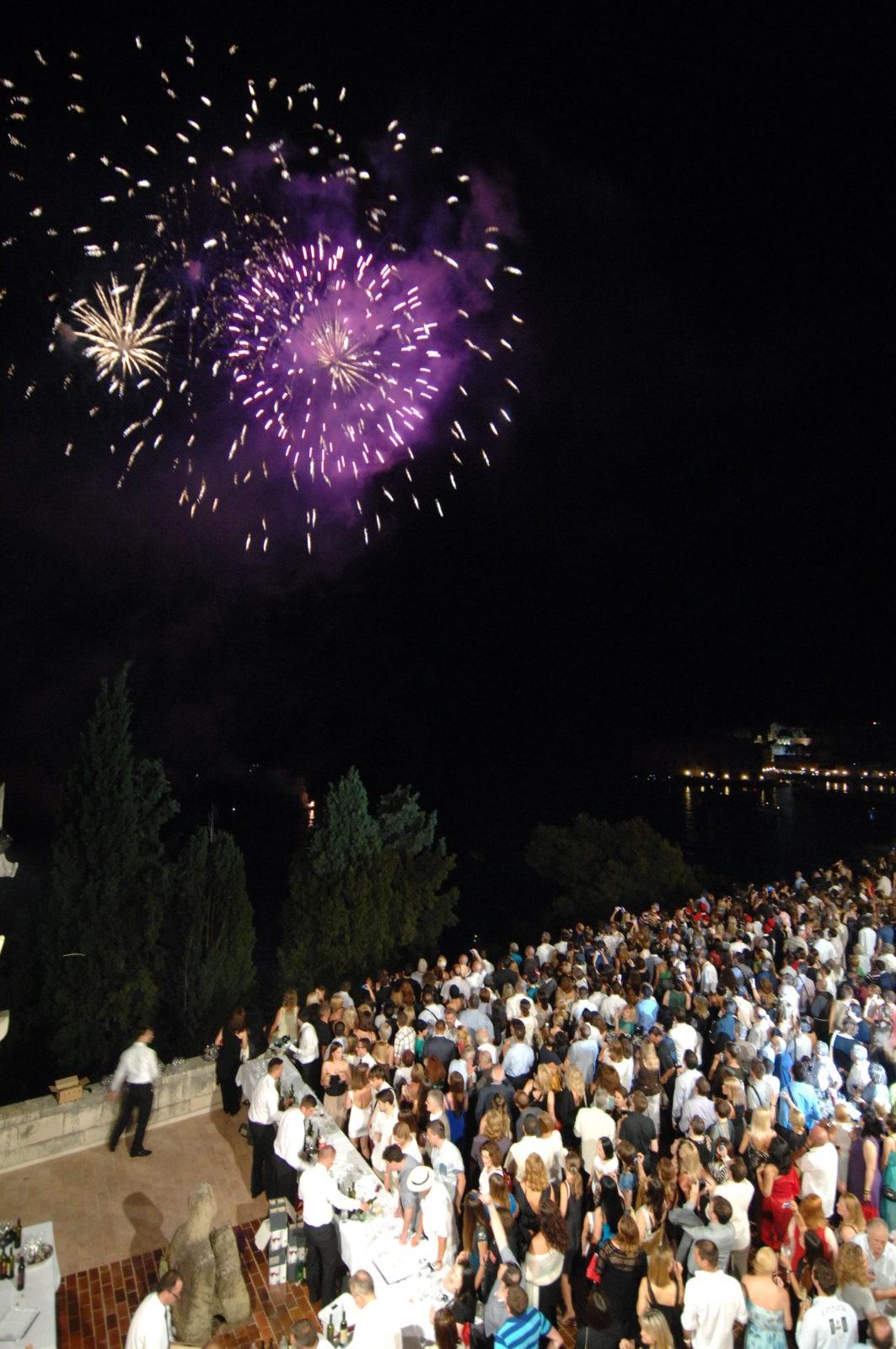 Photo of Firework Spectacular For Dubrovnik Summer Festival