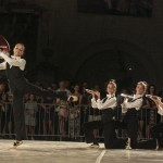 Ballet Dancers On Stradun