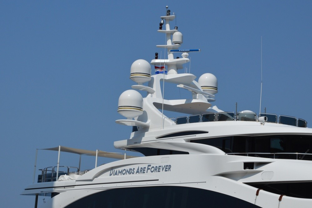 Photo of Super Yacht Luxury:Diamonds Are Forever