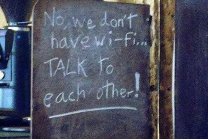Photo of Restaurant Chihuahua's WiFi Policy