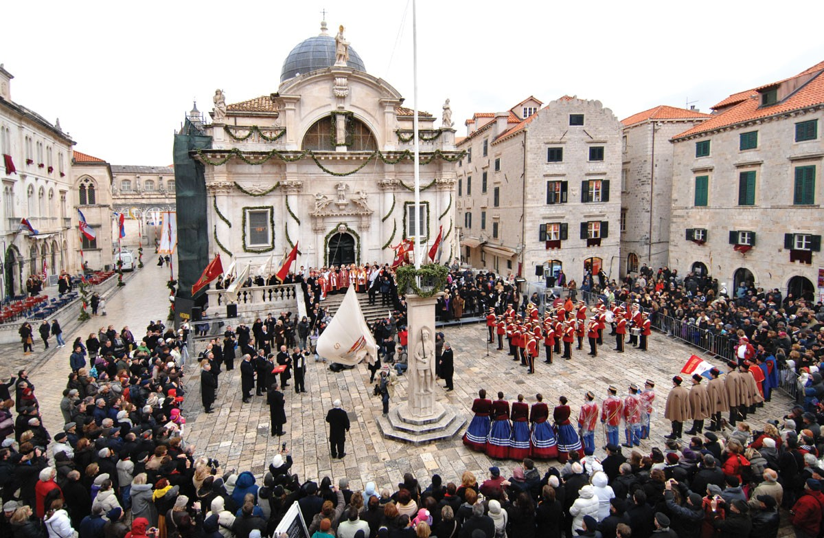 Photo of Saint Blaise festivity – Dubrovnik's Day