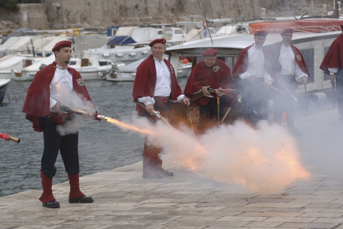 Photo of Part of the Tradition: Dubrovnik's Trombunjeri, Musket-Bearing Guard of Honor