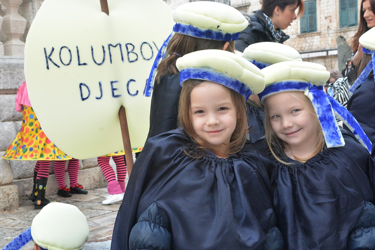 Photo of Children masquerade party on Stradun