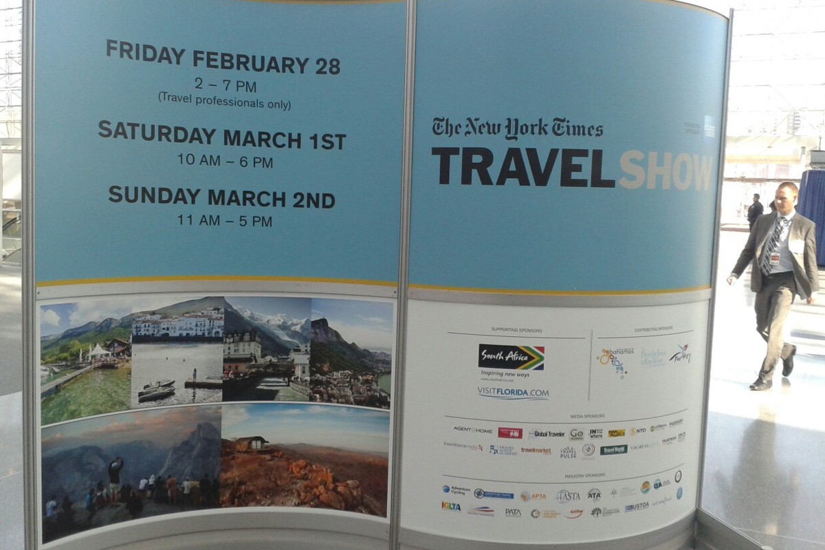 Photo of Dubrovnik at New York Times Travel Show