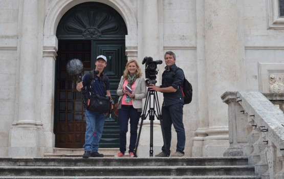 Photo of France 2 journalist reported about Dubrovnik and its tradition!
