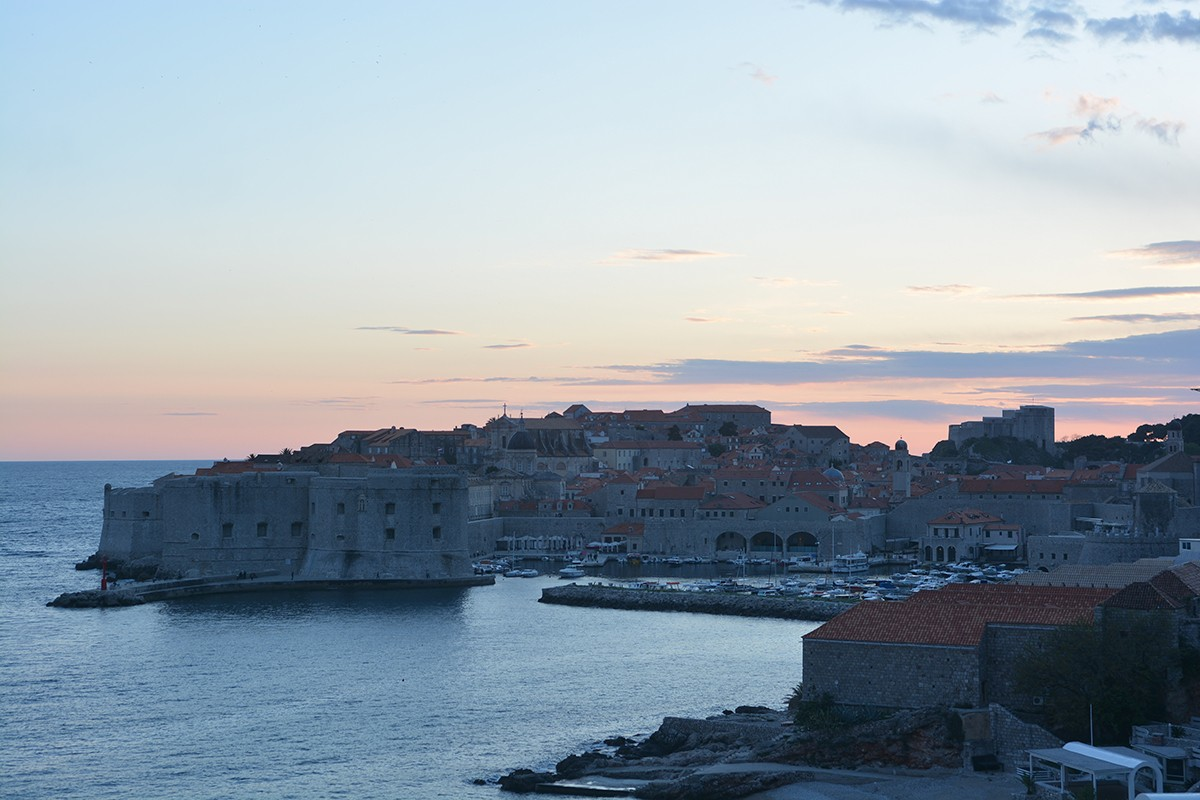 Photo of Spectacular Sunset in Dubrovnik!