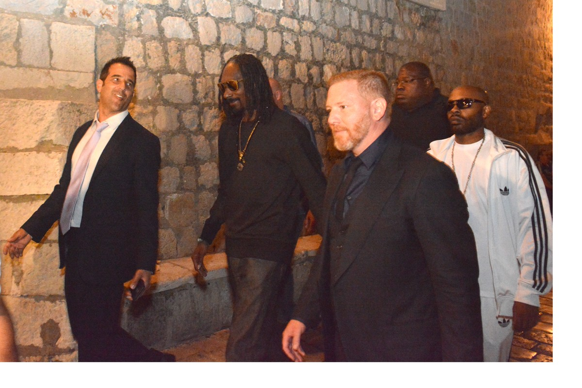 Photo of Snoop Dogg ​is ​in Dubrovnik ​to host the evening party on the wedding​