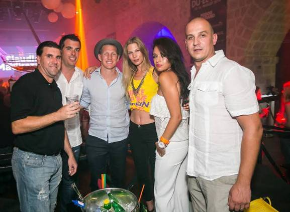 Photo of Bastian Schweinsteiger at the party in Revelin!
