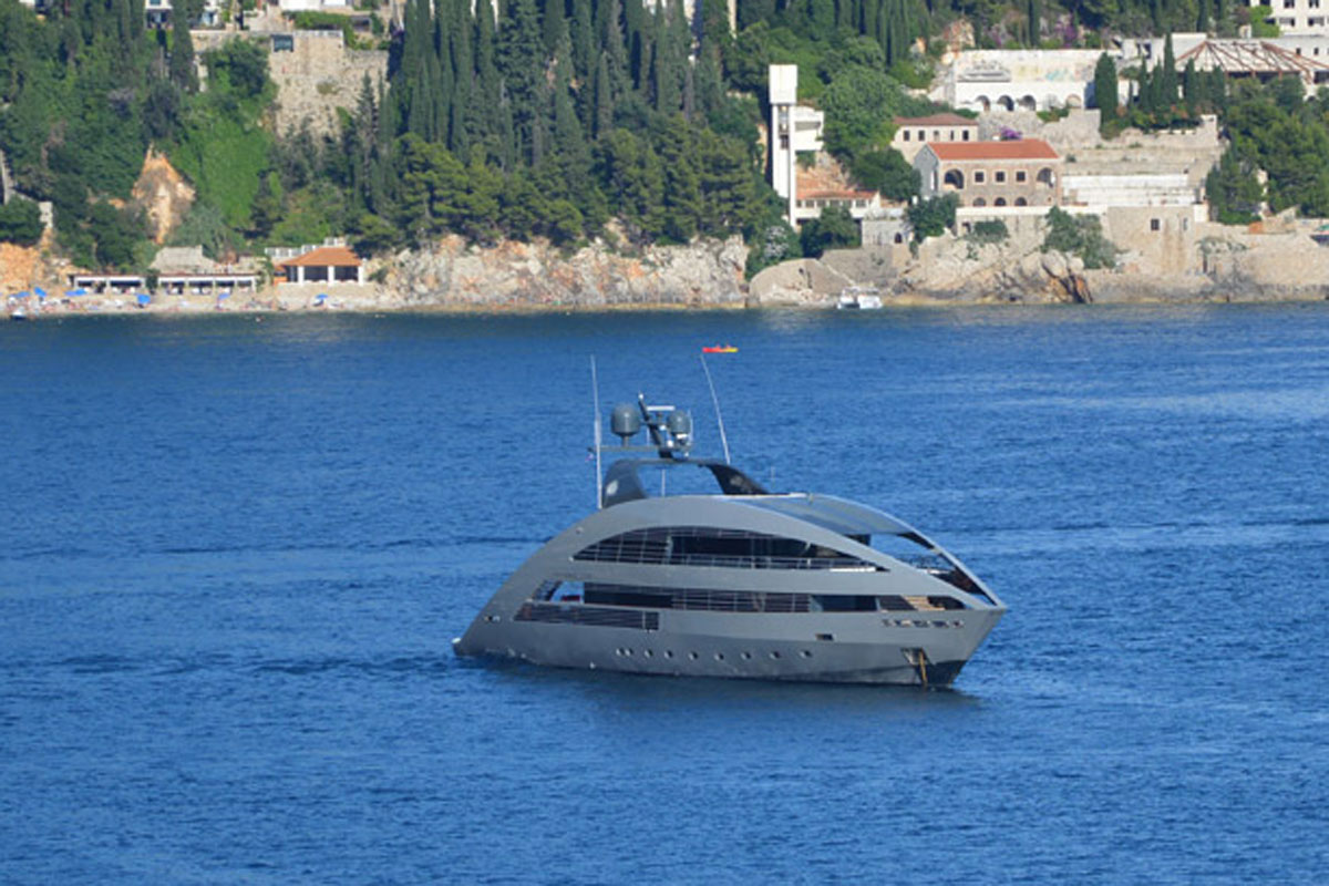 Photo of An impressive yacht 'Ocean Pearl' has arrived!