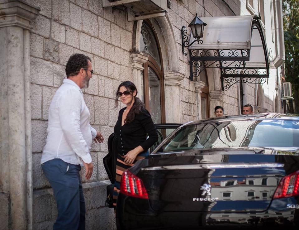 Photo of Monica Bellucci in Dubrovnik!