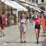 Dubrovnik, Stradun, tourists