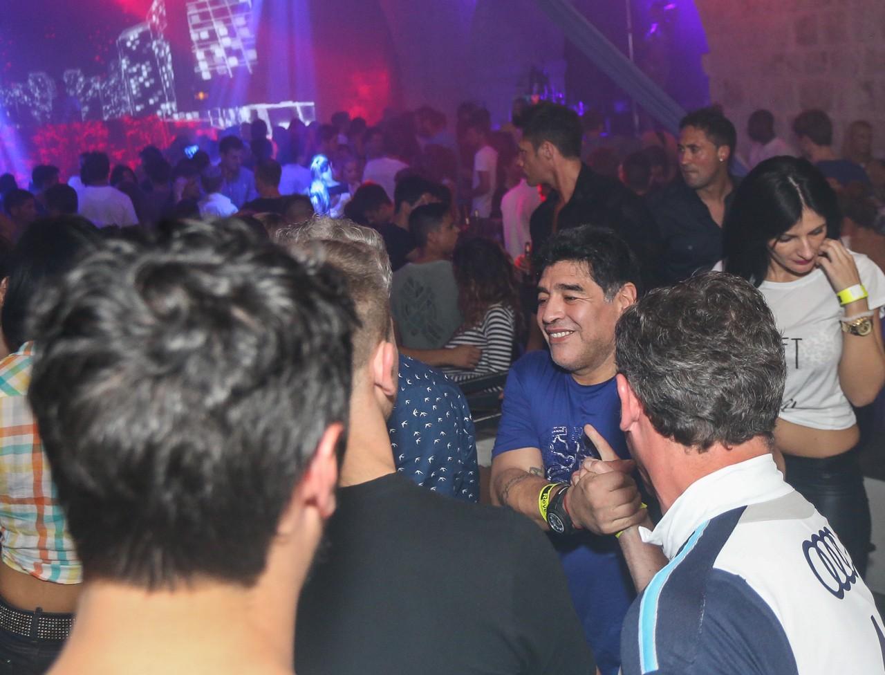 Photo of Photo Gallery: Diego Armando Maradona in Dubrovnik!