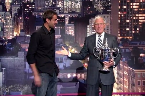 Photo of Video: Marin Cilic in David Letterman's show