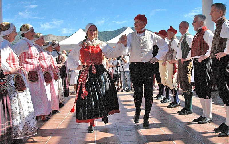 Swedish folk ensemble