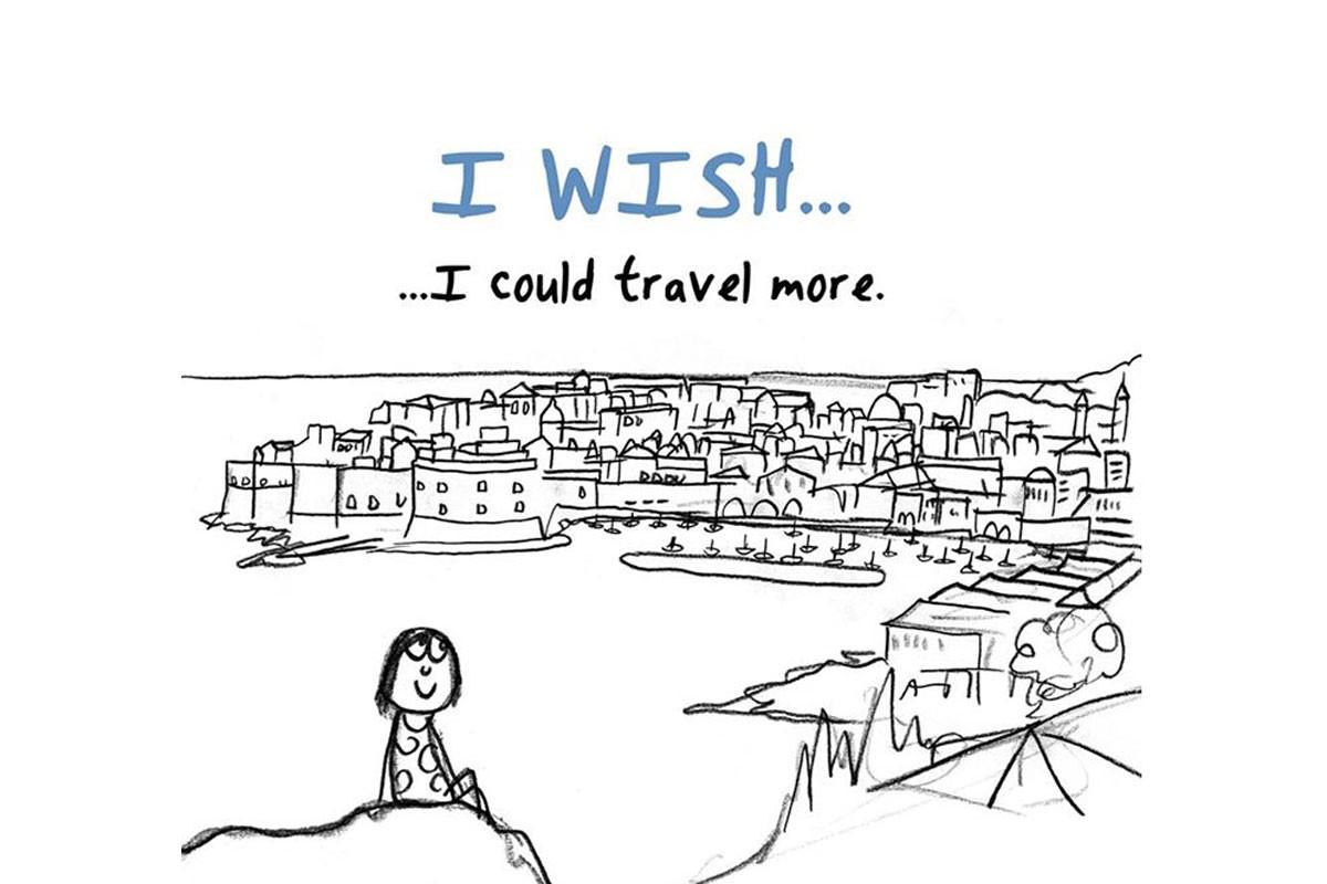 Dubrovnik illustration