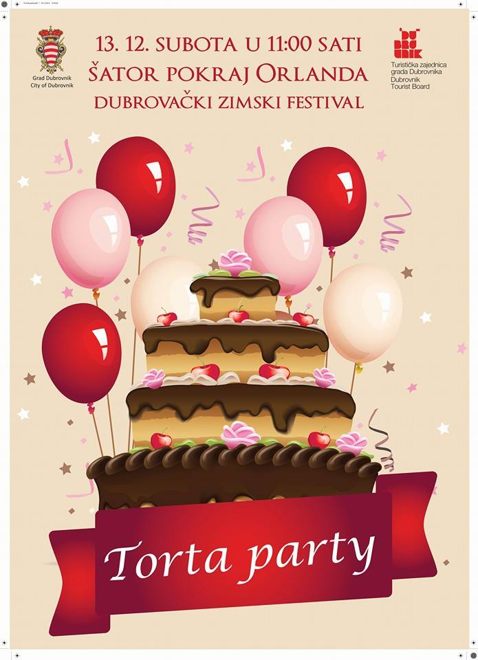 Street Cake Party on Stradun!
