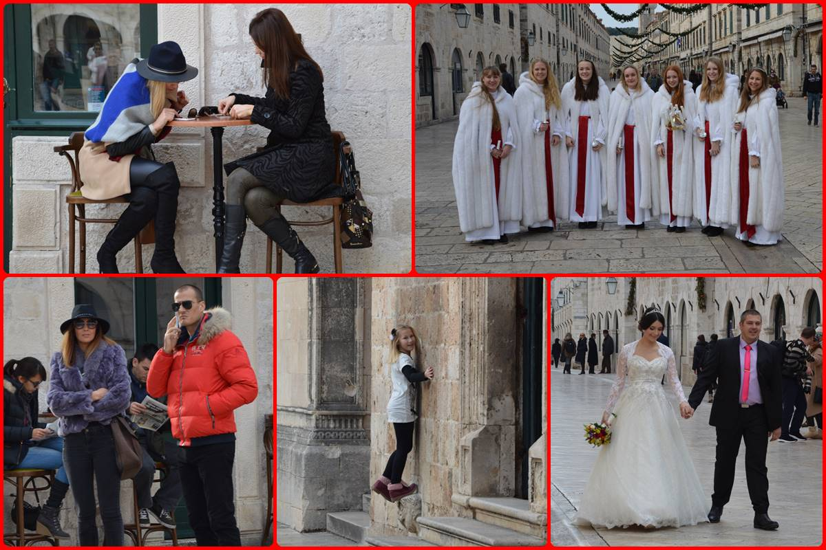 Photo of Saturday in Dubrovnik: Interesting visitors in the city centre!