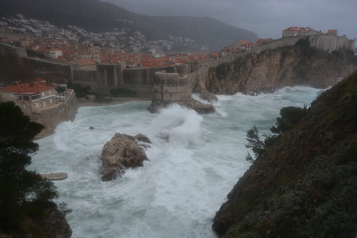 Photo of Photo Gallery: Storm in Dubrovnik