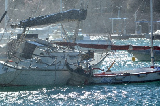 Photo of Drama in Orsan: While saving a ship man ended over board!