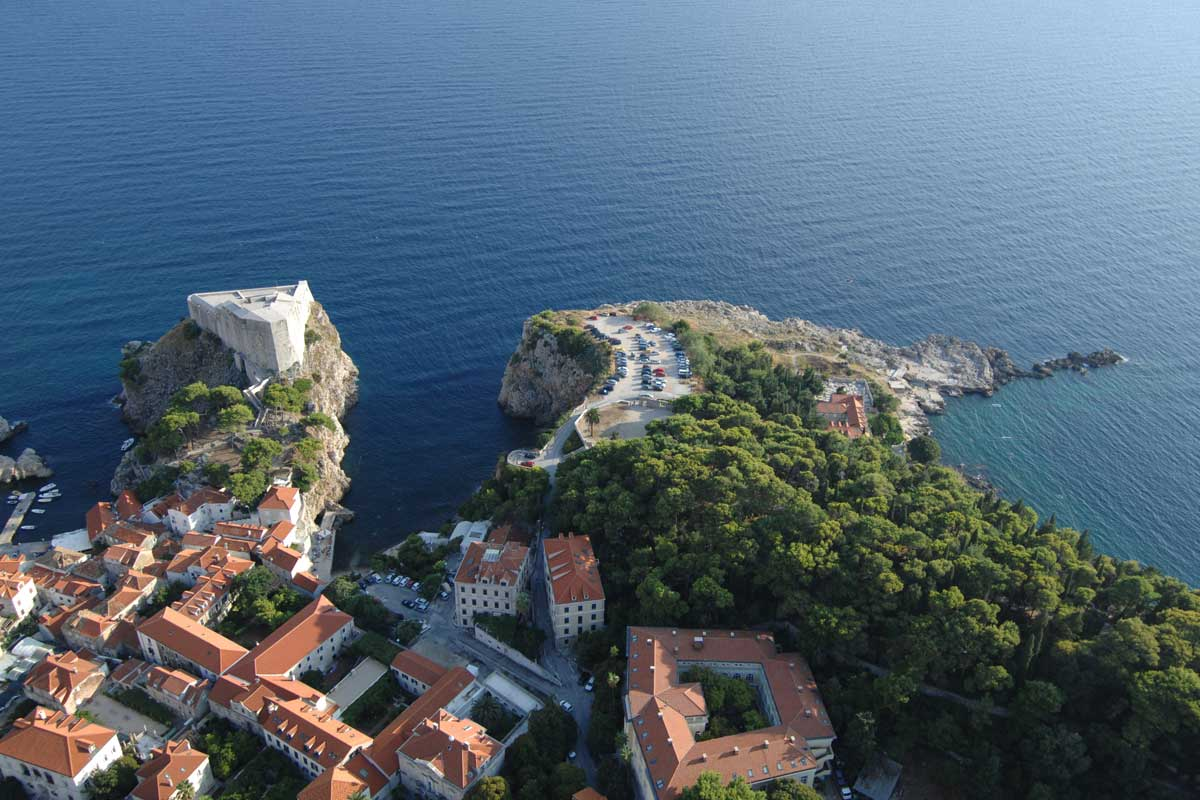 Photo of Fort Lawrence, a symbol of Dubrovnik's freedom!