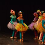 Little ballerinas and ballet dancers performed at the Marin Drzic Theatre