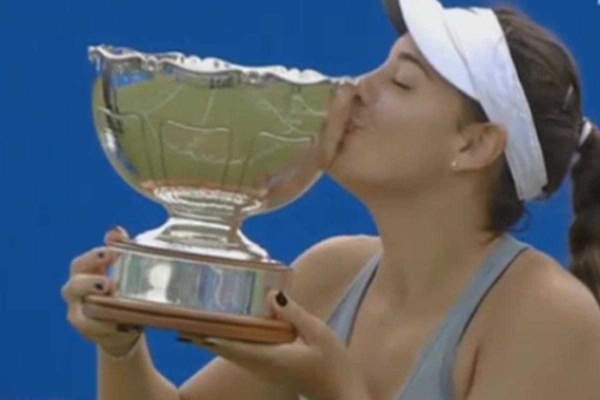 Photo of Ana Konjuh won the WTA Aegon Open in Nottingham!