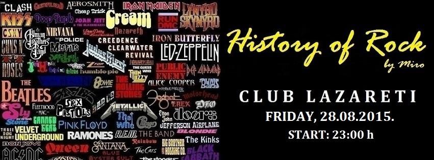 history of rock, Lazareti