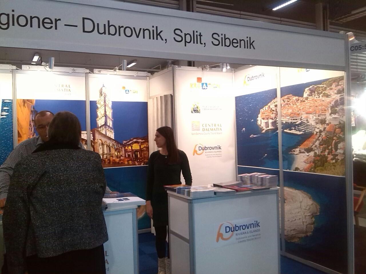 Photo of Dubrovnik presented in Stockholm