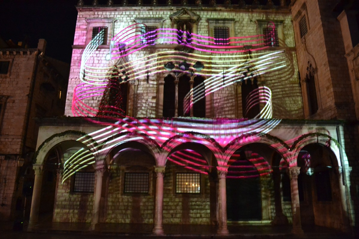 Photo of Photo: 3D Mapping on Sponza Palace