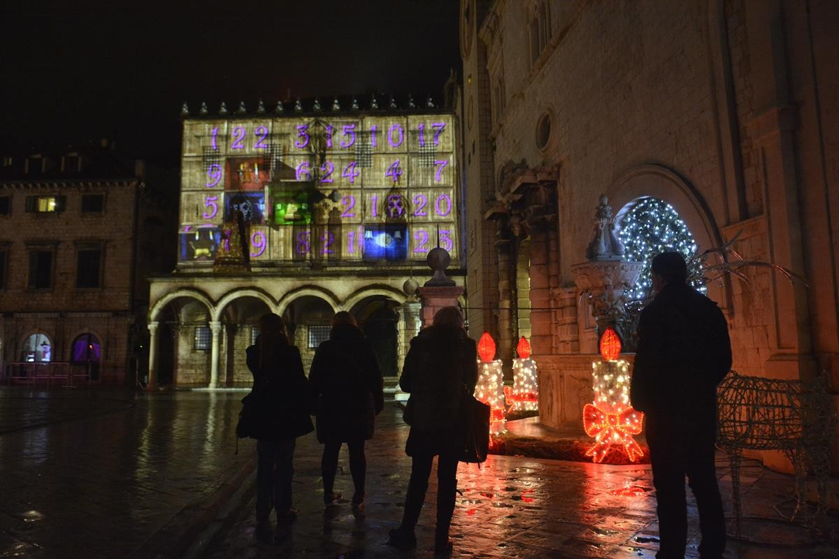 Photo of 3D Mapping: Magic of Advent on Sponza Palace