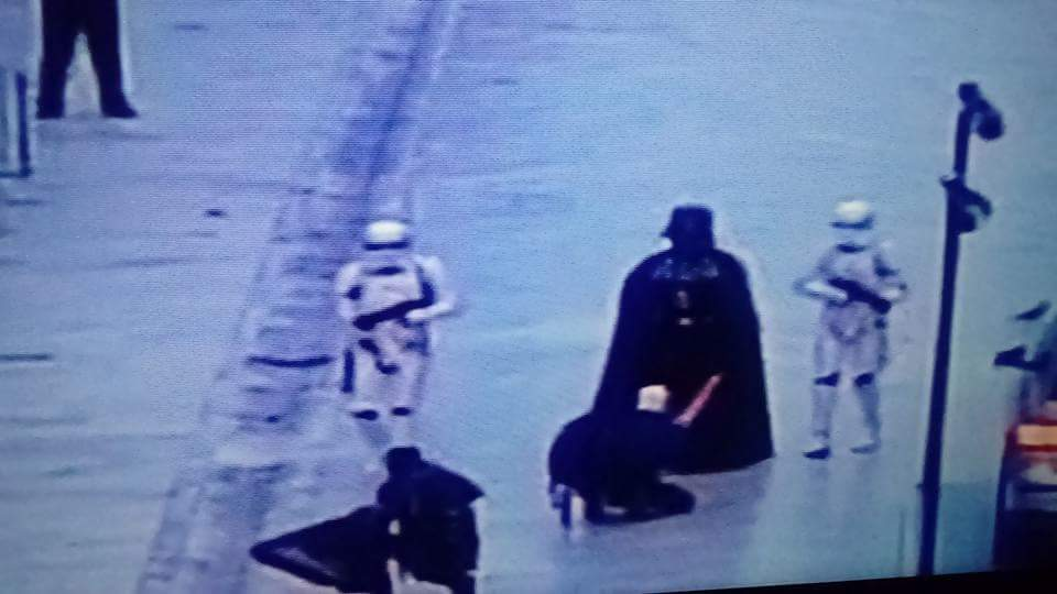 Photo of What Is Going On? Darth Vader Arrived To Dubrovnik?
