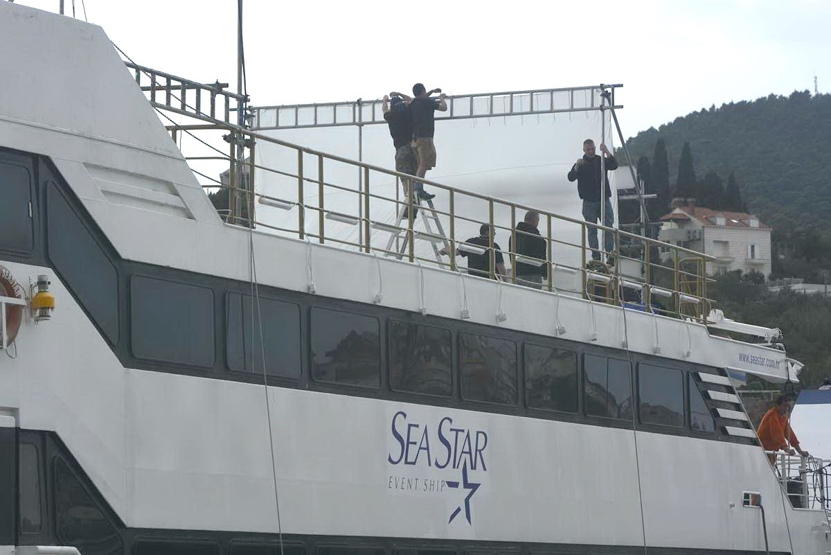 Photo of Photo Gallery: Cruise Ship Sea Star will be a part of Star Wars Movie?