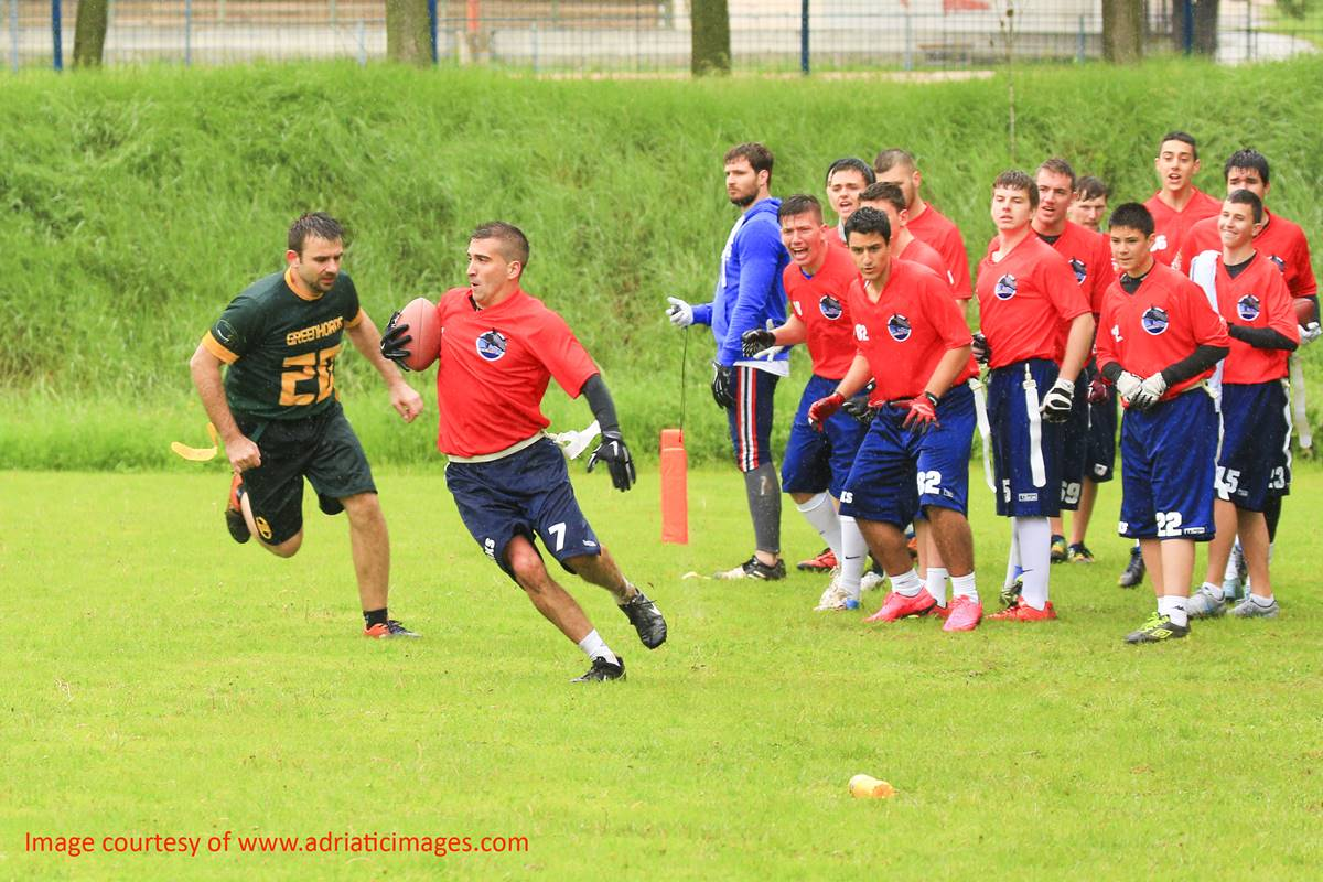 Photo of Go Sharks! American Football Club From Dubrovnik on Major Tournament This Weekend