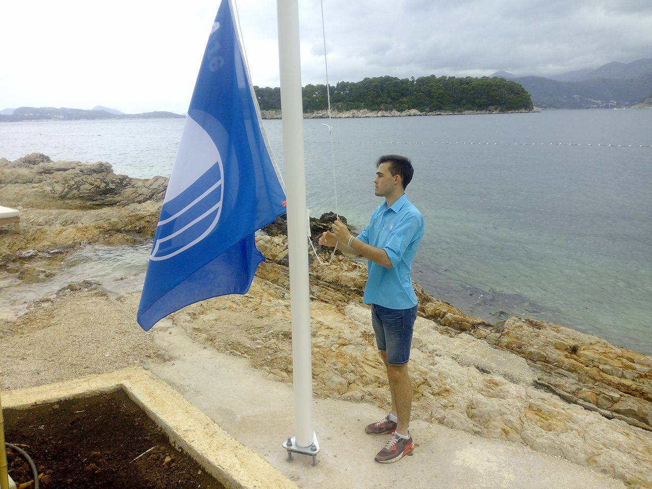 Photo of 'The Blue Flag': Great Award for One of Dubrovnik's Most Beautiful Beaches
