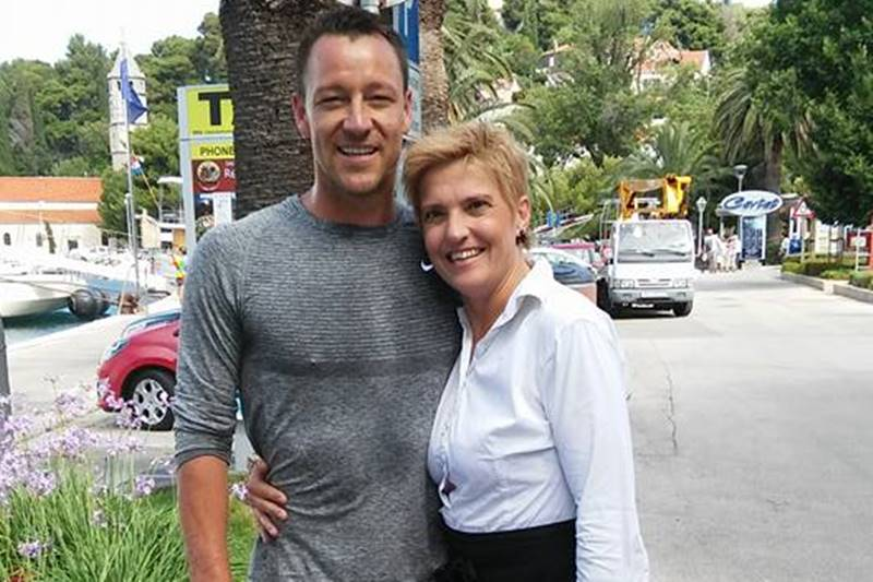 Photo of John Terry With His Fans: Hanging Around With Chelsea's Famous Captain in Cavtat