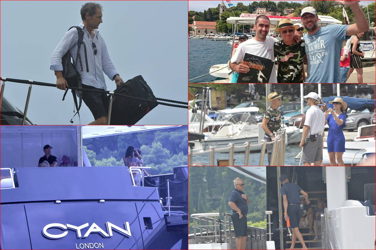 Photo of Photo Gallery: U2's Adam Clayton and 'The Edge' in Cavtat!