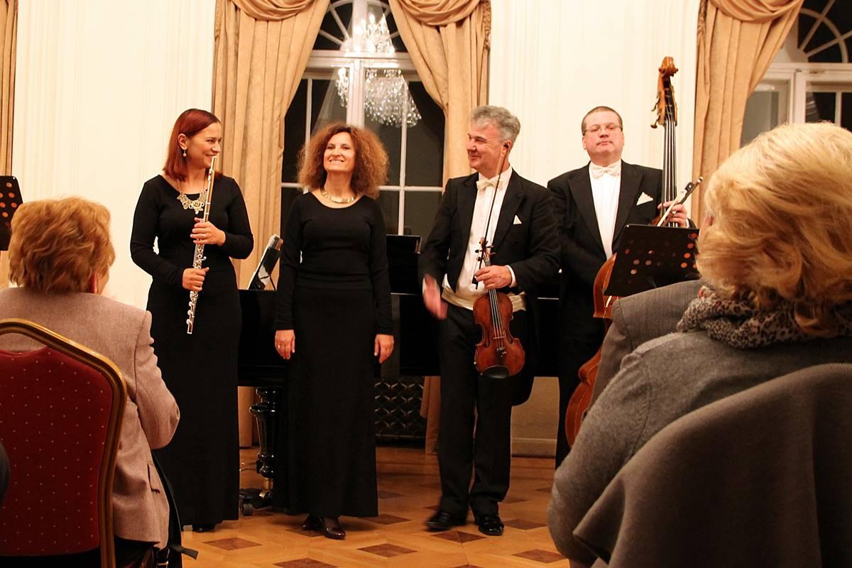 Photo of Sorkočević Quartet From Dubrovnik Performed in Famous Bartokov Hall